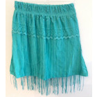 D422 skirt for girls, tassels 116-134