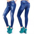 B16629 Jeans Pants, Skinny Line, Trendy Holes