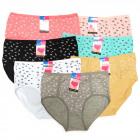 Practical Women's Panties, coton , XL - 3XL, 5