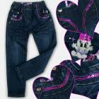 A19204 Mädchen Jeans Hosen, 1-5 Jahre