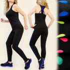 4357 Slimming Fitness Set, Top + Pants