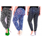 Bamboo Women Pants, Patterns, M-6XL, 5539