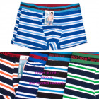 Boys Boxer Shorts, Colorful Stripes, 110-152, 5400