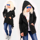 4494 Long Hoodie, Decorative Straps