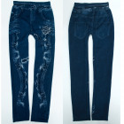 Warm Leggings Girls Jeans, 4-12 ans, A19260