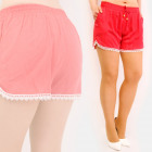 C17685 Women's Summer Shorts, Loose Fit, Lace
