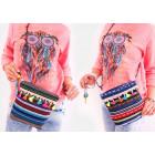 T66 Small Women's Handbag, Ethnic Style, Folk