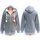 Women Jacket, Hoodie with Fur Inside, S-XL, 5211