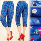 FL443 COMFORTABLE PANTS, 3/4 SHORTS, WEDDING DESIG