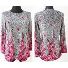 Patterned blouse, Plus Size, L-4XL, 5659