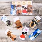 4255 Női zokni 3D, szép háziállatok teljes - nyomt