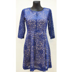 B528 WOMEN'S DRESS VR-16093, M TO 3XL.
