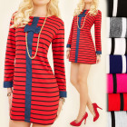 BI480 Effective Dress, Tunic, With Bow