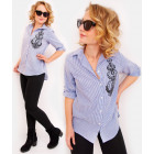 R26 Lovely Women Shirt With Royal Embroidery