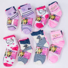 Childrens socks, cotton, Mix of Patterns 22-34