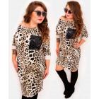 EM07 Plus Size Dress, Kimono, Spots and Sequins BE