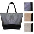 4806 Large Ladies Bag, Shopper, Glossy Look