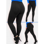Bamboo Women's Leggings, Black, 2XL- 7XL, 5469