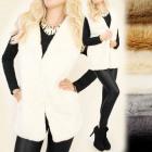 C17243 Long Waistcoat, Sleeveless, Vest, Great Fur