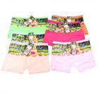 Bamboo Boxer Shorts For Girls, 4-12 years old, 557