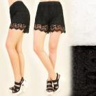 FL511 Schöne, Spitzen Shorts, Boho Style, Openwork