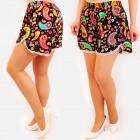 C17605 Sommer Frauen Shorts, Loose Fit, Hippie