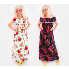 C17525 Hosszú női ruha, spanyol stílus