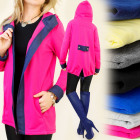 BI104 LOOSE, tracksuits jacket, outfit WITH HOOD