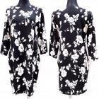 Patterned Dress, Plus Size, L-4XL, 5624