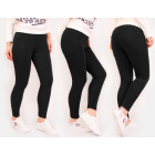 4348 Leggings, Sweatpants, Bamboo, Black