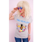 Camicetta di cotone K540, T-Shirt , Top, Blind Lov