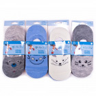 Cotton Kids Socks, Invisible, Nice Pets 22-36,5346