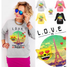 A864 Women Sweatshirt, Print: Paris is The Answer