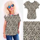4652 Cotton Shirt, Top, Animal Look, Spots