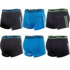 Cotton Mens Boxer Shorts, L-3XL, Stripes, D26155