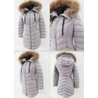 E27 Winter Women's Jacket, Snow White, Gray