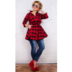BI674 Free Women Shirt, Loose Tunic, Oversize