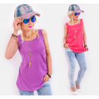 BB198 Cotton Top Blouse Universal Loose Fit