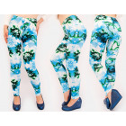 4487 Charming Leggings, Pattern frozen Flowers