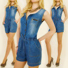 BI421 JEANS OVERALL FOR SUMMER, SHORTS, cotton