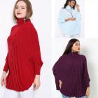 Suéter extragrande para mujer, línea impresionante