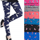 Leggings For Girls, 104-152, Polka Dots, 5393