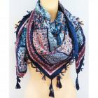 B11499 Big Scarf, Plaid, Shawl, Warm Knitwear