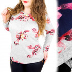 C11459 Comfortable Blouse, Warm Tunic, Plus Size