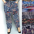 Bamboo Women Pants, Summer M-6XL, Patterns,