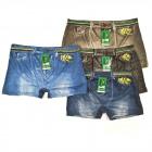 Boxershorts, Baumwolle, Jeans, 2XL-5XL, 5687