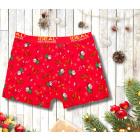 4406 Christmas Mens Boxers Shorts M-2XL, Santa