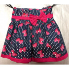 D423 Skirt for girls, in bows, 98-134