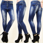 B16439 FIT JEANS, PANTS, STITCHING