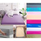 Bedsheet, sheet with elastic rubber 160x200, Z144